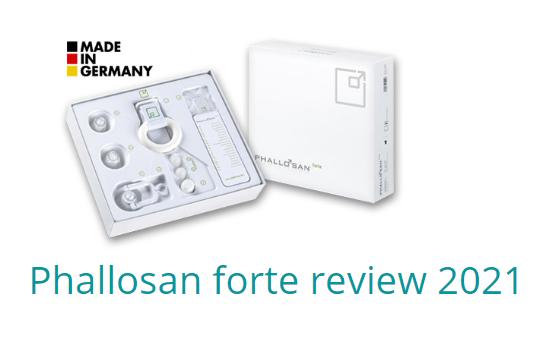 Phallosan forte as of 2021